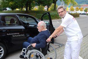 Krankenfahrten Schumacher in Spaichingen. Wir fahren Sie!